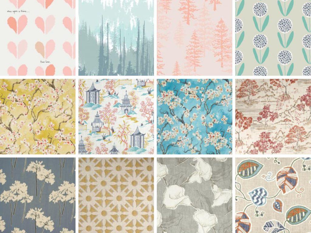 Canvas fabric prints