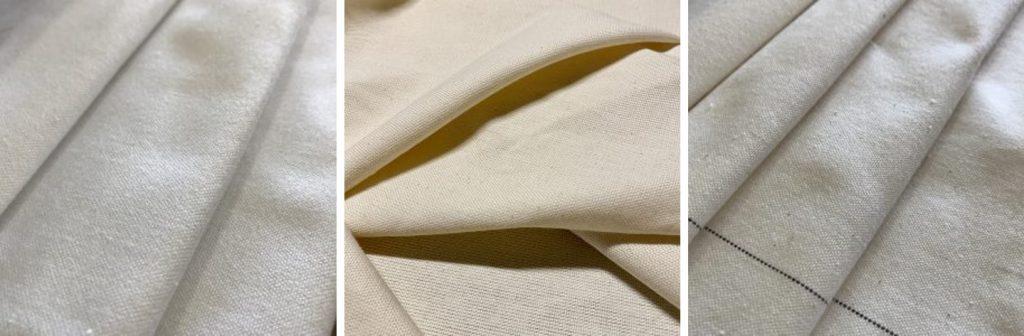 Natural cotton canvas Rosebery Fabrics
