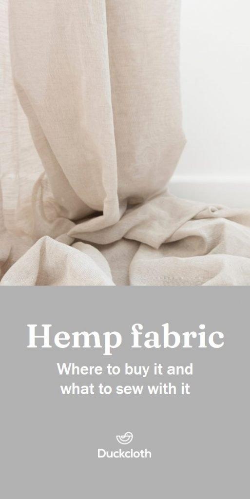 Hemp fabric guide
