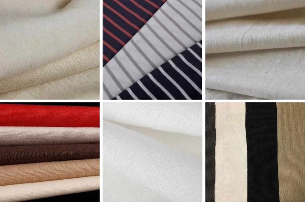 Hemp gallery fabric